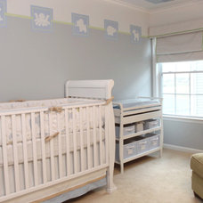 Contemporary Nursery by Johnston Interior Design