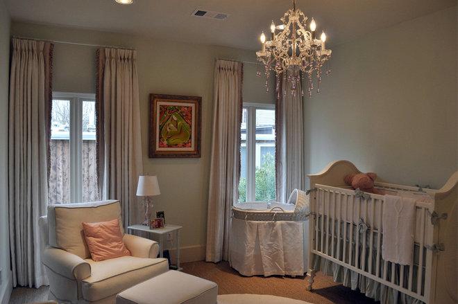Traditional Nursery by Jamie House Design