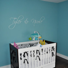 modern kids by Kristina Melo w/ The Rosen Group Interiors