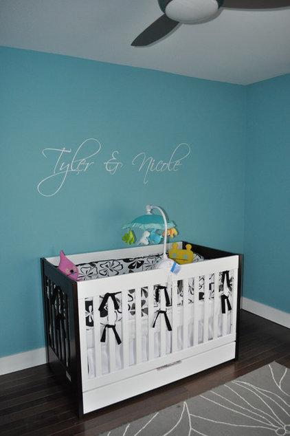 Modern Nursery by Kristina Melo, RA