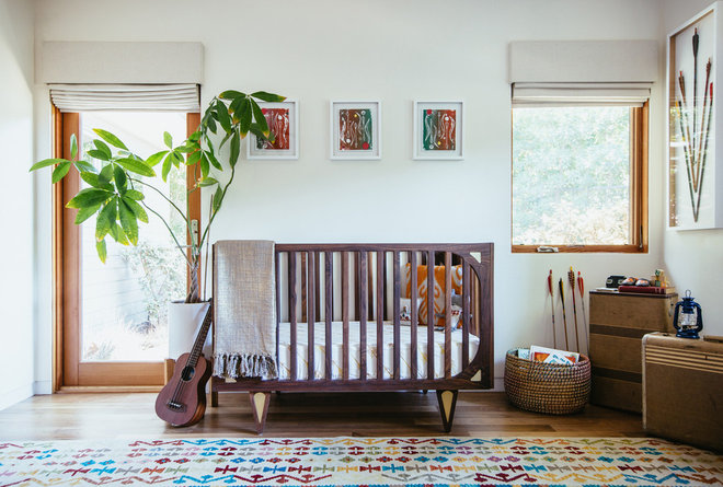 Midcentury Nursery by Union of Art, Inc