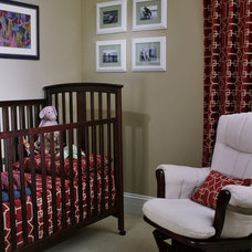 Traditional Nursery by Molly McGinness Interior Design