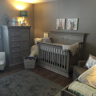 This is an example of a rustic nursery in Phoenix.