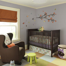 Transitional Nursery by Rachel Reider Interiors