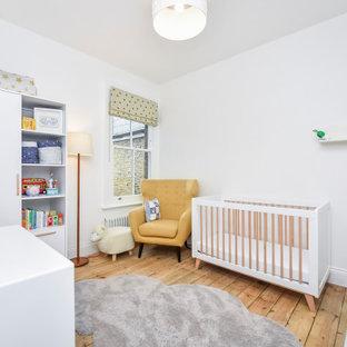 Inspiration for a medium sized modern nursery in London.