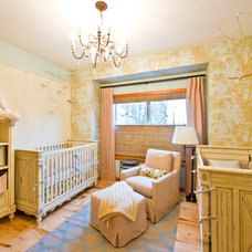 Traditional Nursery by Sticks and Stones Design Group inc.