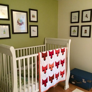 This is an example of a rustic nursery in Bridgeport.