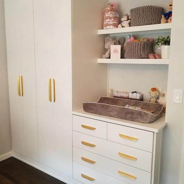 Nursery Wall Cabinets/ Storage