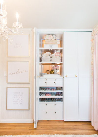 Transitional Nursery by Lisa Adams, LA Closet Design