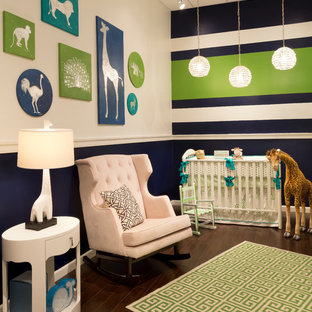 Modern nursery in New York.