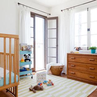Exemple d'une chambre de bébé méditerranéenne.