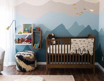 Ombré Mountain Nursery