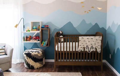 Room of the Day: An Ombré Nursery Inspired by a Cold-Weather 'Babymoon'