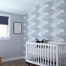 Transitional Nursery by Davis Home Pros