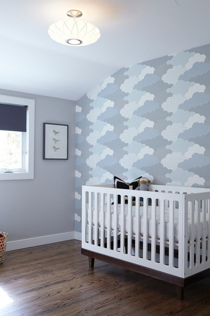 Transitional Nursery by Davis Home Pros
