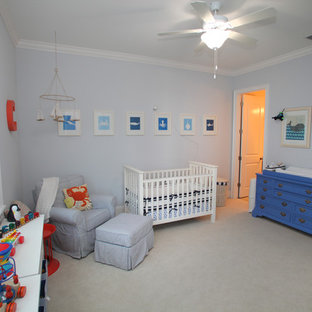 Inspiration for a craftsman nursery remodel in Tampa