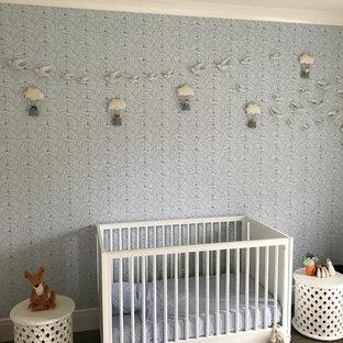 Aménagement d'une très grand chambre de bébé.
