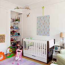 Contemporary Nursery by Fox Force Five Construction