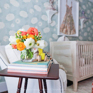 Design ideas for a large eclectic nursery in Los Angeles.