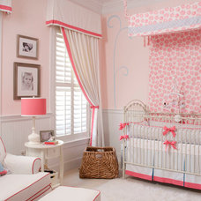 Traditional Nursery by Liz Carroll Interiors