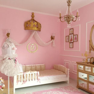 Pink and Gold Classic Parisian Nursery