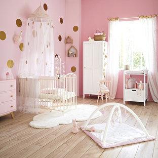Design ideas for a romantic nursery in London.