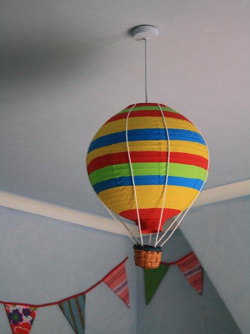 Chambre De B B Clectique Avec Un Mur Multicolore Photos Am Nagement Et Id Es D Co De
