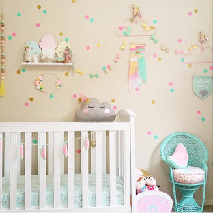 Inspiration for a contemporary nursery remodel in Sydney