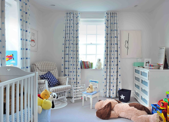 Transitional Nursery by Studio Suss