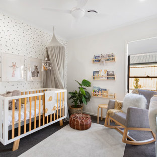 Inspiration for a contemporary nursery in Sunshine Coast.