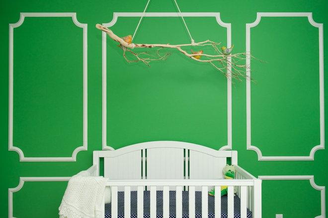 Contemporary Nursery by Serendipite Designs