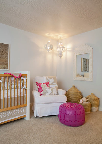 Contemporary Nursery by Leighton Design Group