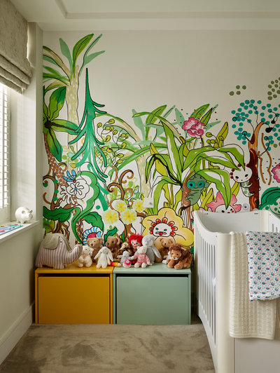 Contemporary Nursery by Ensoul Ltd