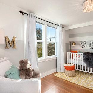 Grande chambre de bébé Seattle : Photos, aménagement et idées déco ...