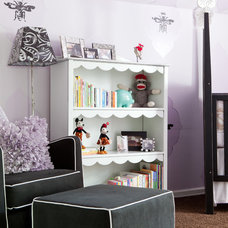 Eclectic Nursery by Red Leaf Interiors, LLC