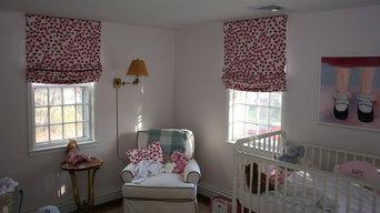 Kids Room Roman Shades - Hingham, MA