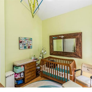 Inspiration for a small midcentury nursery in Richmond.