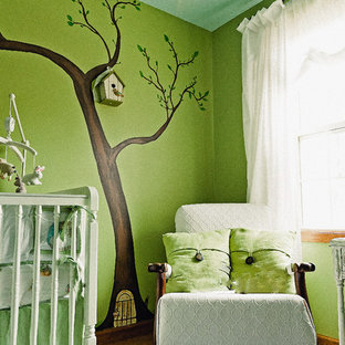 Photo of a small vintage nursery in Minneapolis.