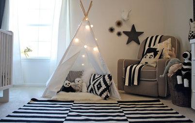 Designikon: Det sort-hvide IKEA-tæppe passer ind i de fleste hjem