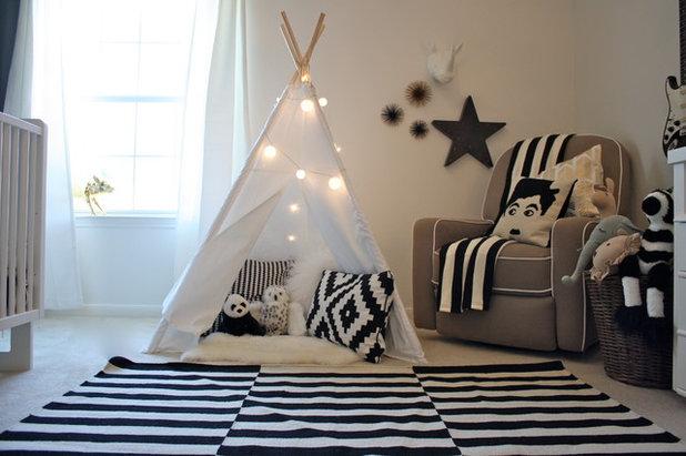 Modern Babyzimmer by Très Chic Designs