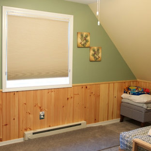 This is an example of a small rustic nursery in Burlington.