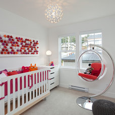 Contemporary Nursery by Portico Design Group