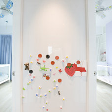 Contemporary Nursery by Clifton Leung Design Workshop - CLDW.com.hk