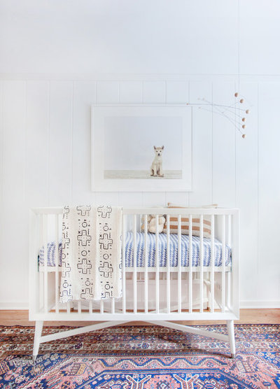 Contemporary Nursery by Amber Interiors