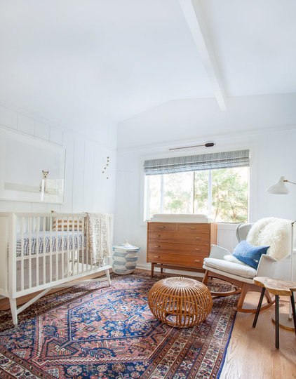 Eclectic Nursery by Amber Interiors