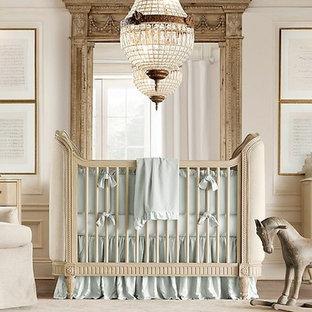 Ispirazione per una cameretta per neonati minimalista