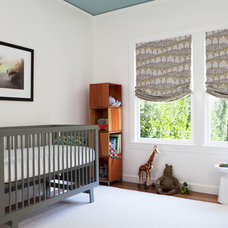 Contemporary Nursery by Christy Allen Designs