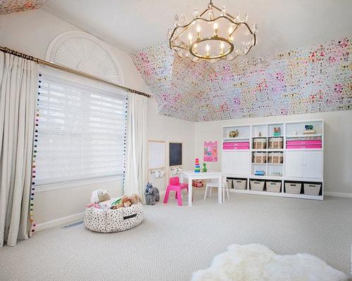 grande chambre de b b moderne photos am nagement et id es d co de chambres de b b. Black Bedroom Furniture Sets. Home Design Ideas