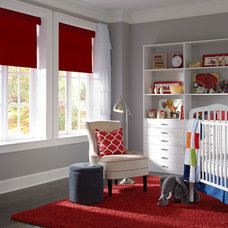Contemporary Nursery by Lutron Electronics