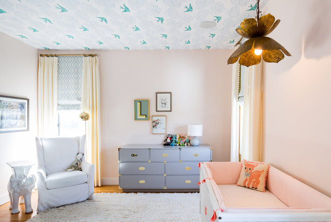 Transitional Nursery by M.A.D. Megan Arquette Design